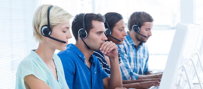 Hoe werkt een callcenter of telemarketingbureau?