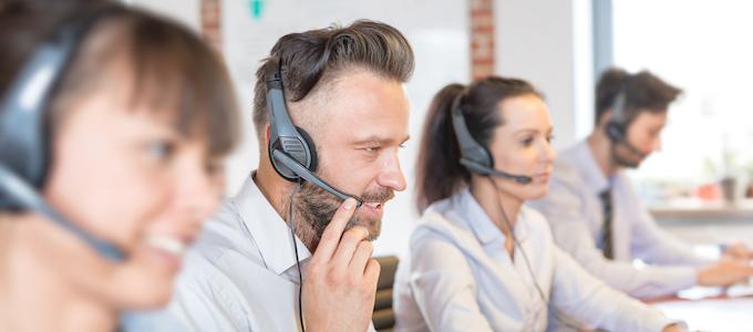 Afspraken maken door medewerkers telemarketingbureau dankzij het nabellen van offerteaanvragen.